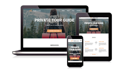 Tour Guide Website Design