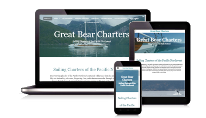 Boat Charter Website Design